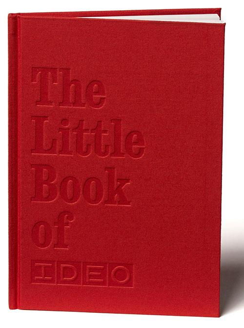 Book cover of the Little Book of IDEO